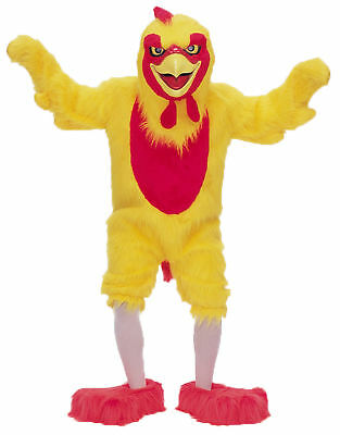 Comical Chicken Mascot Complete Adult Costume Funny Animal Theme Halloween Party - Halloween Party Costume Themes
