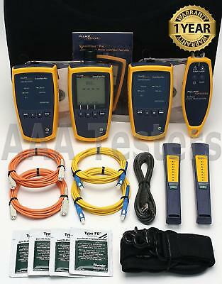 Fluke Networks Simplifiber Pro Sm Mm Fiber Optic Loss Test Kit W Findfiber