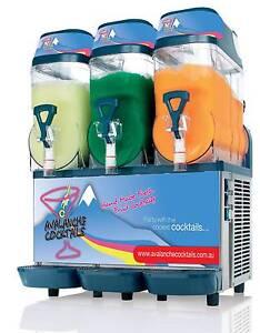 3 Bowl Slushie / Slushy Cocktail Machine 180 Drinks Hire Loganholme Logan Area Preview