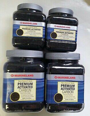 Marineland Black Diamond Premium Activated Carbon 2-5oz 2-10oz Jars 30 oz total Black Diamond Activated Carbon
