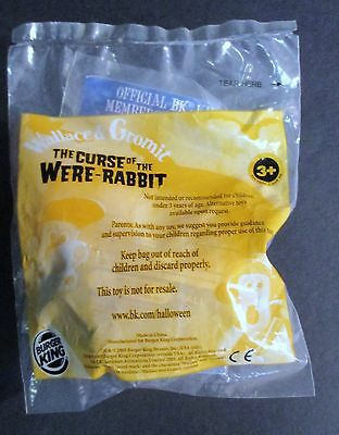 2005 Burger King Meal Toy Wallace & Gromit The Curse Of The Were Rabbit Toy NIP
