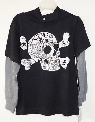 Halloween Line Skull & Crossbone Shirt Boy's 4 yr. (Halloween-line)