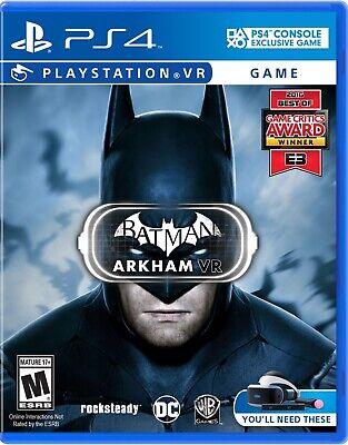 Batman: Arkham VR (Sony PlayStation 4, (Warner Bros Batman Arkham Vr Playstation 4)