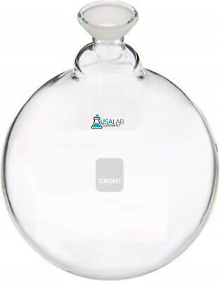 2000ml Spherical Joint Round Bottom Receiving Flask - 1 Neck 3520