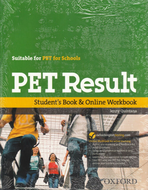 Oxford PET RESULT Student's Book with Online Workbook / PET for Schools @NEW@