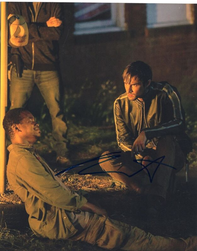Andrew West The Walking Dead Gareth Zombie Killer Signed 8x10 Photo w/COA #9