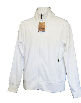 NOUVEAU Nike Vêtements de sport NSW BRAZIL BRÉSIL FOOTBALL TRANSIT Veste Blanc M