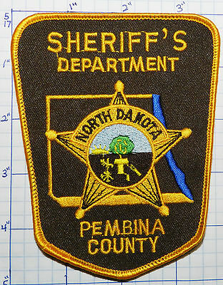 North Dakota  Pembina County Sheriffs Dept Patch
