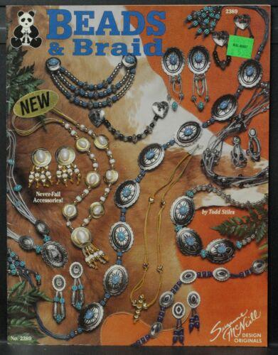 BEADS & BRAID Jewelry Instruction Book • 1993 • 33 Patterns