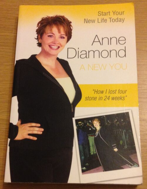 A NEW YOU Anne Diamond Book (Paperback) Weight Loss