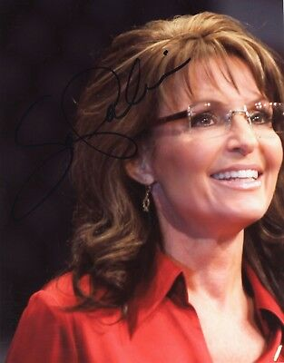 ~~ SARAH PALIN Authentic Hand-Signed