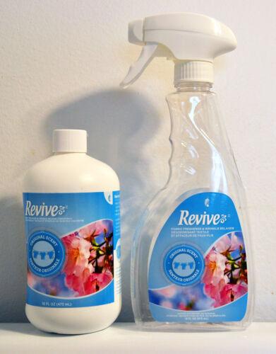 Melaleuca Revive Fabric Freshener & Wrinkle Relaxer Concentrate +Spray Bottle
