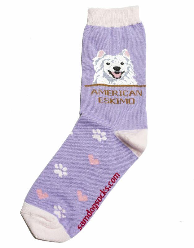 American Eskimo Dog Socks