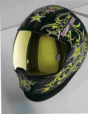 0700000800 Esab Sentinel A50 Welding Helmet Wrap Decal Sticker Yellow Rock Star