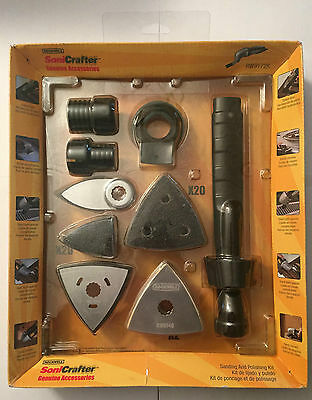 ROCKWELL SONICRAFTER SANDING & POLISHING KIT RW9172K (HAS DUST ATTACHMENT)