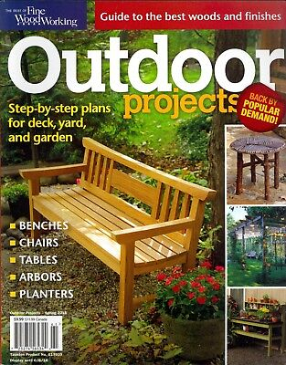 Fine Woodworking's Outdoor Projects Spring 2016](Spring Projects)