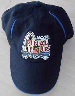 NCAA Mens Basketball Final Four St. Louis 2005 Ballcap Black NEW (S1191) (2005 Ncaa Mens Basketball)