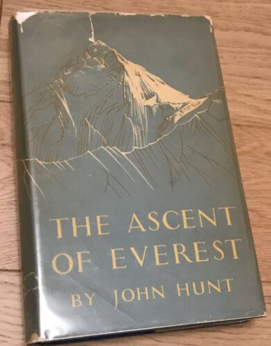 SIGNED Edmund Hillary - The Ascent Of Everest, John Hunt, First Edition 1953
