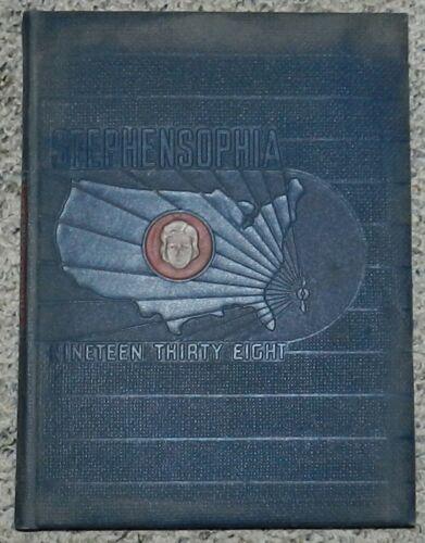 Stephensophia Yearbook - Stephens College Columbia Missouri 1938