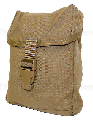 USMC Individual First Aid Kit Pouch IFAK Coyote MOLLE Utility Pouch VGC