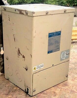 Transformer Ge 9t21b1006g2 10kva 1-ph 480240v To 240120v Indooroutdoor Qms