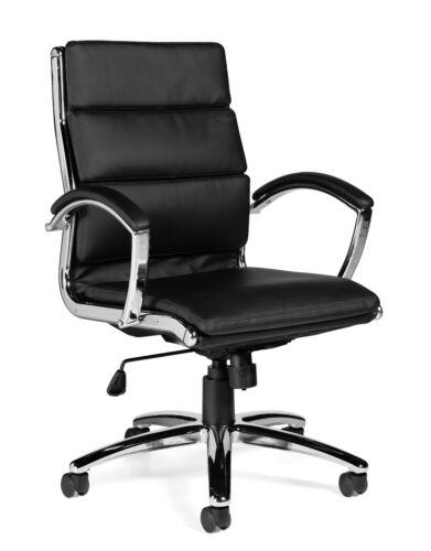 Lot Of 8 Black Otg11648b segmented Cushion Chair