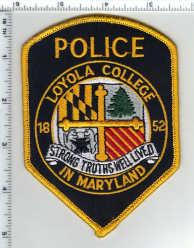 Loyola College in Maryland Police - Shoulder Patch - new