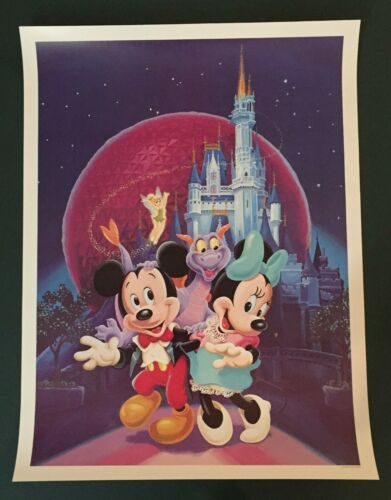 Disney  Mickey, Minnie and Figment Poster