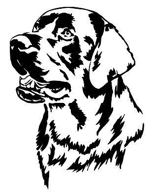Labrador Car Decal / Sticker