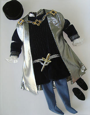 Barbie/KEN Doll Clothes/Fashion Royal King/Prince Garment Set GORGEOUS! NEW!