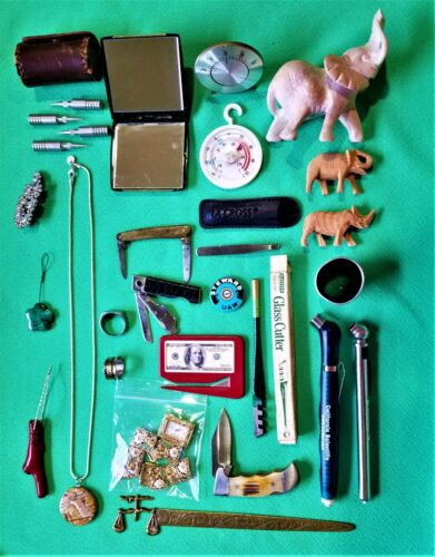 VERY NICE LARGE MIXED LOT OF CLEAN JUNK DRAWER  ITEMS  FROM ESTATE SALES