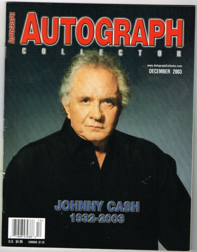 32 different AUTOGRAPH COLLECTOR magazines  2003 - 2008  see list