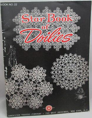 Винтажные American Thread Company Star Book