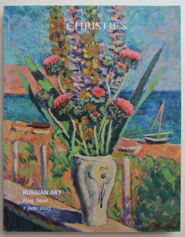 RUSSIAN ART 2015 CHRISTIE