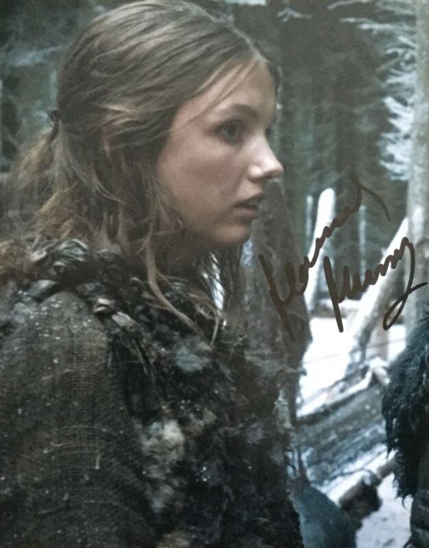 Hannah Murray signed 10x8 Image F photo (UACC registered dealer COA)