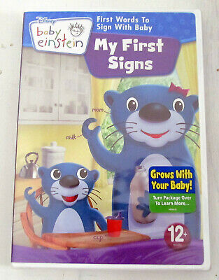 Baby Einstein: My First Signs (DVD, 2009) NEW, Sealed