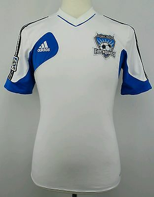 Adidas 2011 MLS San Jose Earthquakes Soccer Jersey Size Adult Small S image