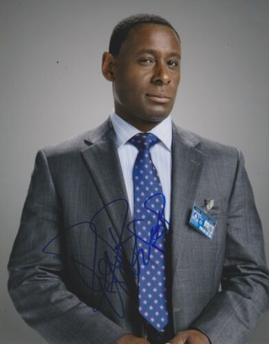 David Harewood Signed Homeland 10x8 Photo AFTAL