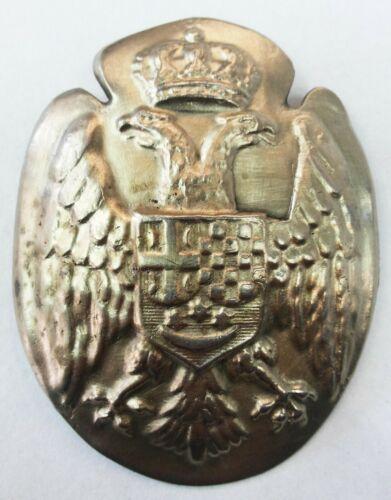 WW1-WW2 Serbian Army Adrian Helmet Badge cockade