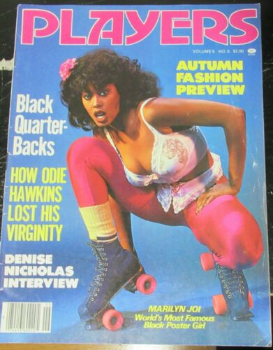PLAYERS VOLUME 6 # 6 VINTAGE AFRICAN AMERICAN COLLECTABLE MAGAZINE