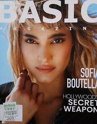 BASIC FASHION MAGAZINE UK Issue 8 Sofia Boutella Hollywood's Secret weapon NEW