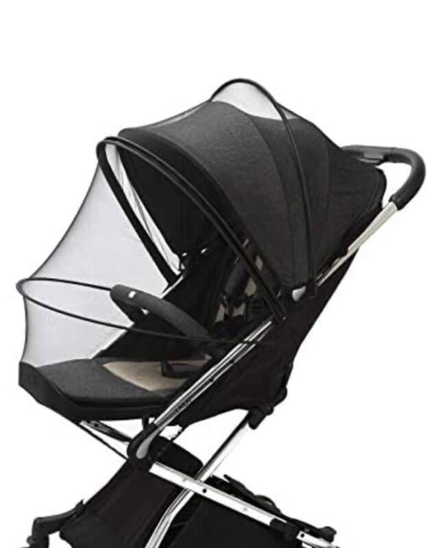 Baby Mosquito Net,Universal Stroller net, Double Zipper Design, Easy Installatio