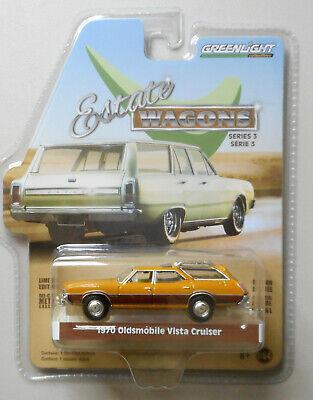 1970 Oldsmobile Vista Cruiser Gold Estate Wagon GREENLIGHT DIECAST 1:64 CAR ](Toys Car)