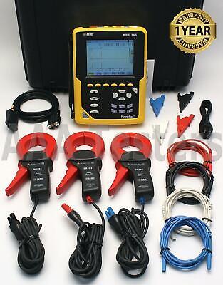 Aemc 3945 Powerpad Three-phase Power Quality Analyzer Meter True Rms