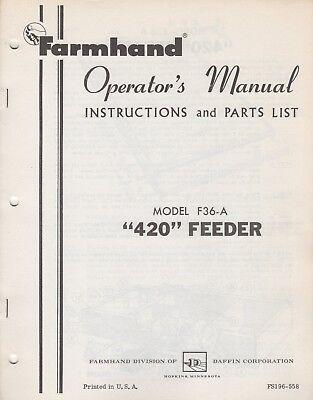 Farmhand Lincoln Equipment Liquidation