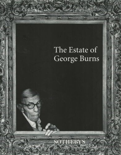 THE ESTATE OF GEORGE BURNS-SOTHEBY