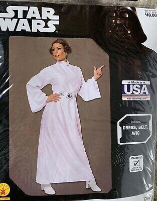 Star Wars Princess Leia Adult Costume. New, Fits Up To Dress Size 12](Adult Princess Dress Up)