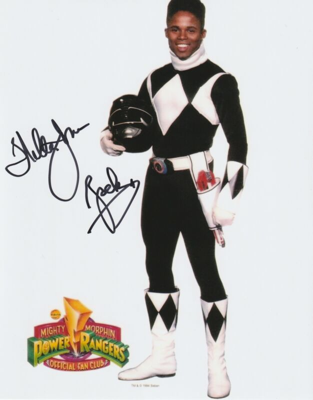 Walter Emanuel Jones Autograph Mighty Morphin Power Ranger - Zack Signed COA 2