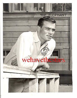 Vintage Glenn Corbett QUITE HANDSOME '62 TV Publicity Portrait