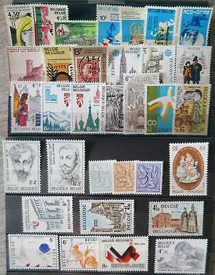BELGIUM 1978 YEAR SET MNH** by1/cr278